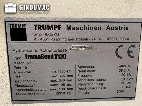 Trumpf TrumaBend V130X