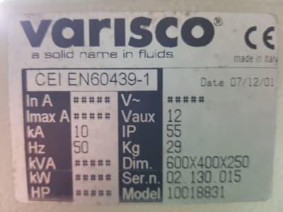 VARISCO GAU A3-100C/MSM1000.4A/MC7502-3/JET kW2 Fire System