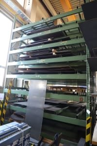 Lot of Heavy Duty Racks without Content