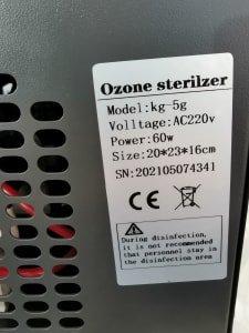 Lot of ozone generator x2 pcs