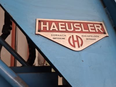 HÄUSLER VRML 2200 / 10 4-Roller Bending Machine