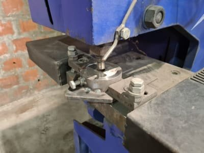 VEB ScFDLA 13/1 Profile Steel Shears and Punching Machine