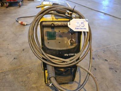 ESAB MIG C250 3 ph Welding Device