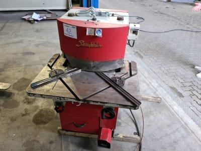 BAYKAL HKA 200 X 4 Hydraulic Notching Machine