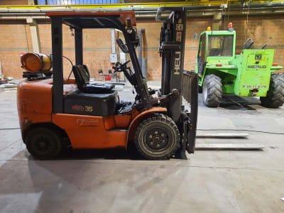 HELI CPQD 35 Forklift Truck