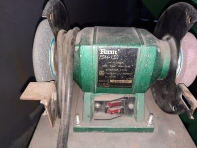 FERM FSM-150 Two-Head Grinding Machine