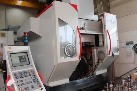 POS POSMILL H 800 U 5-Axis CNC Machining Centre