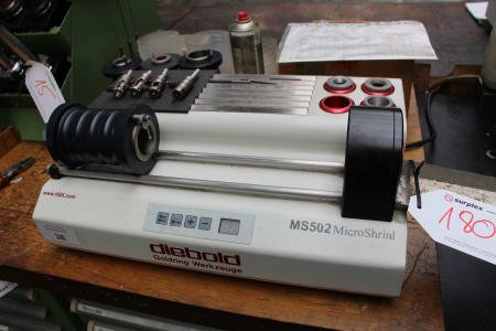 DIEBOLD MS 502 Tool Shrinking Unit