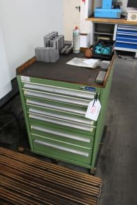 GARANT Workshop Drawer Cabinet with Contents