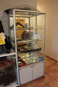 Lot Glass Cabinets