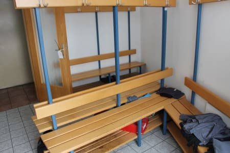 Lot Changing Room Benches
