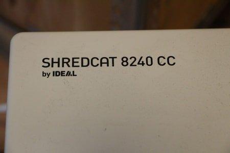 KRUG & PRIESTER SHREDCAT 8240 CC File Shredder