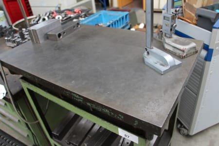Marking Plate on Base Frame