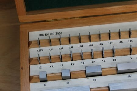 Gauge Block Box