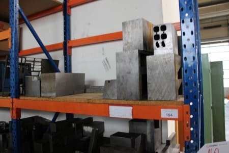 Heavy Duty Shelving Unit with Contents
