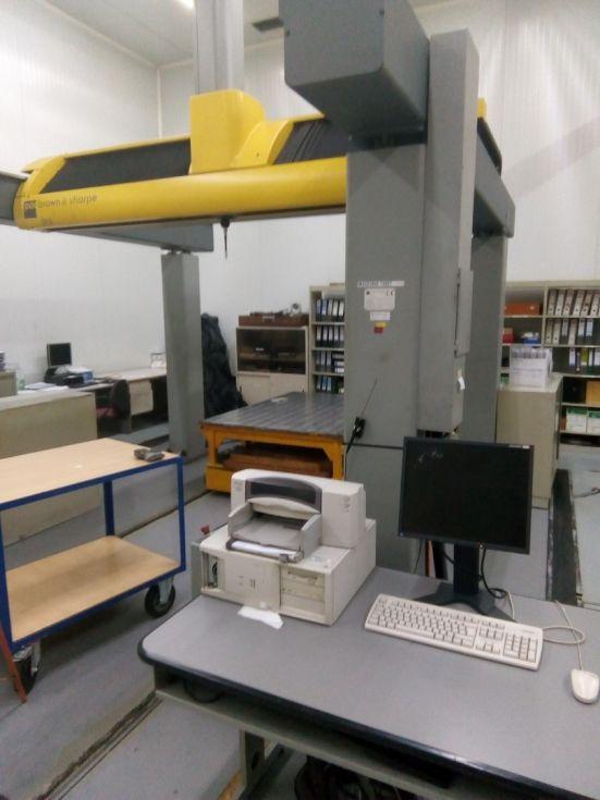 Máquina de medición por coordenadas