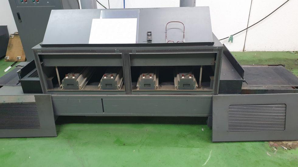tunel de curado UVI 5.000 Kw X4