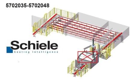 SCHIELE Vacumat 5702035 PVC-Profile Coating Line