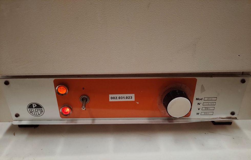 Estufa de laboratorio, max 80ºC