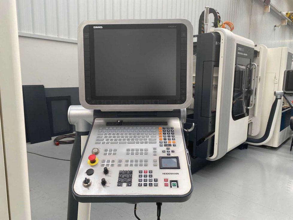 Centro Vertical DMG DMC 635V