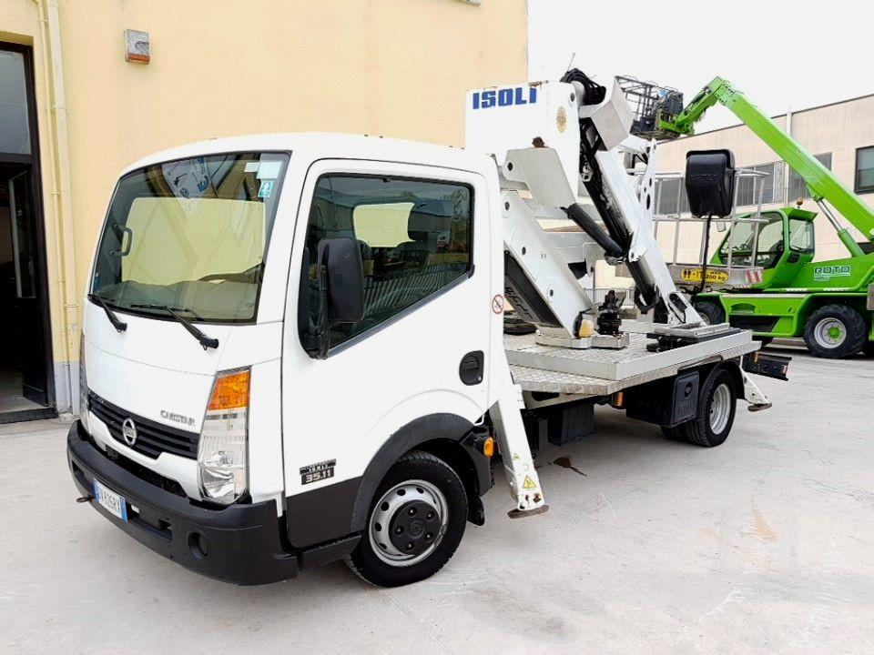 Plataforma sobre camiones 20Mt Isoli PNT