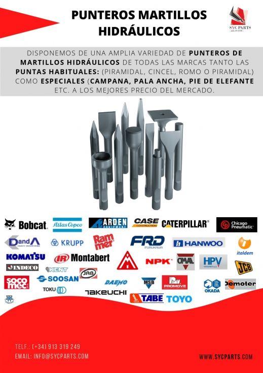 Repuestos martillos hidráulicos