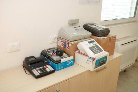 Lot of cash registers