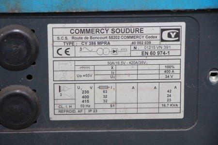 Máquina de soldar COMMERCY SOUDURE CY 386 MPRA