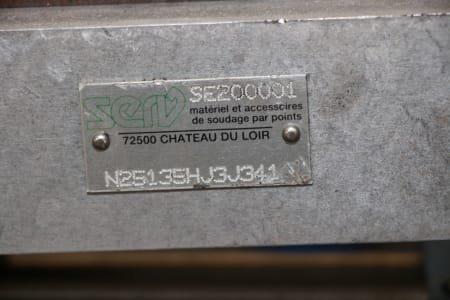 SERV SE200001 Point welidng clamp