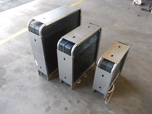 Jaula placas de apoyo grúas