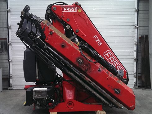 Grúa Fassi F215A.2.26 e-dynamic