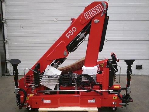 Grúa Fassi F50A.0.23 HO (nueva)