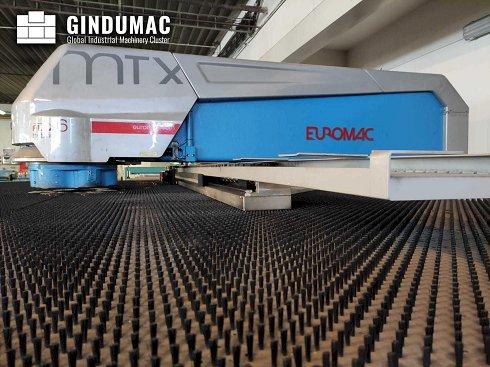 Punzonadora de torreta híbrida Euromac MTX Flex 6