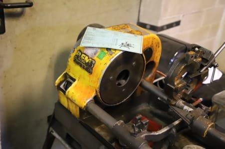 REMS TORNADO Threading Machine