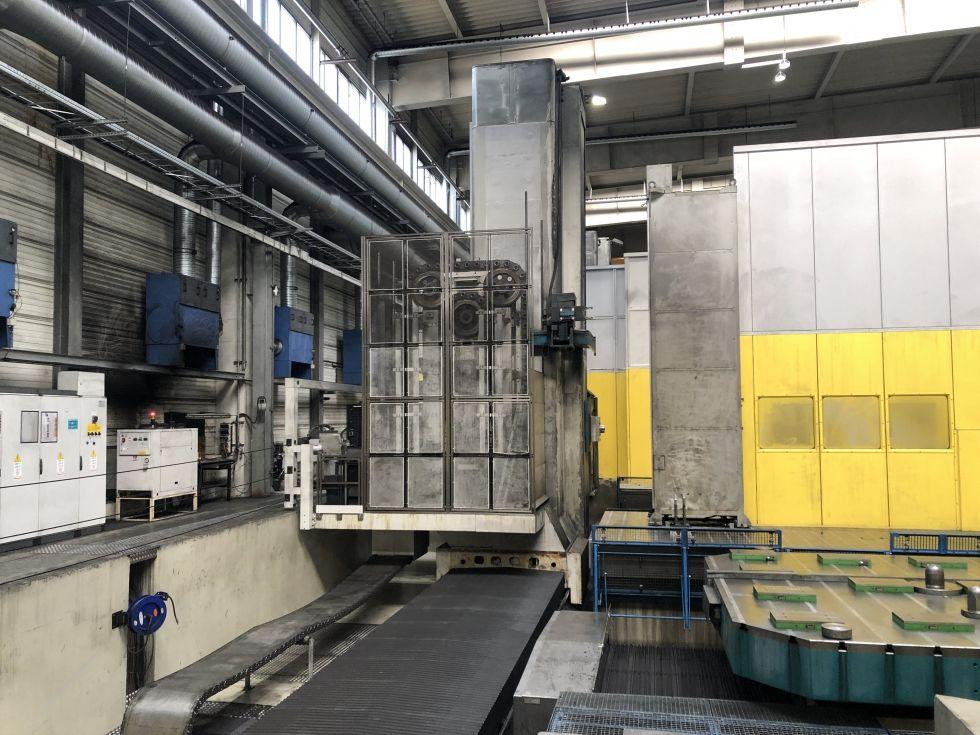 Mandrinadora horizontal tipo piso CNC