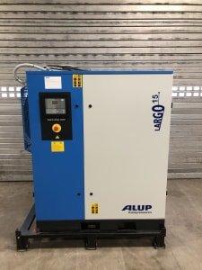 Compresor, calderín y secador por condensación ALUP Largo 15-10 G2