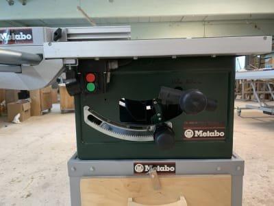 METABO Mobile Circular Table Saw