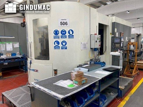 Centro de mecanizado horizontal Kitamura Mycenter HX630L