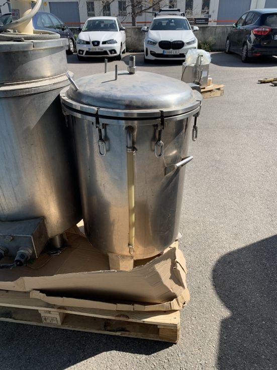 Deposito acero inoxidable 150 litros de segunda mano