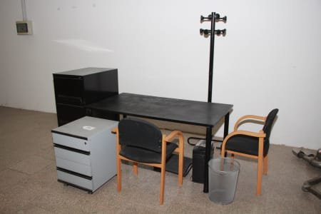 Lot of office furniture