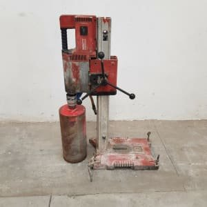 HILTI DD-250E Coring machine plus Hilti support