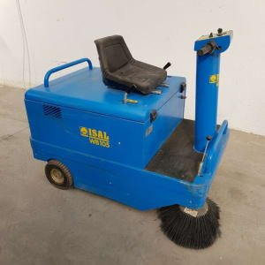 ISAL WB105 Industrial electric sweeper with vacuum cleaner