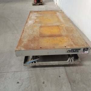 ORMIC XPD.10.8 Hydraulic platform