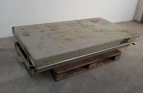 ORMIC XCD.15.6 Hydraulic platform