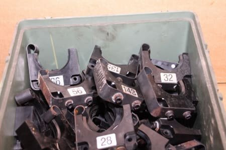 Lot of Tooltaper Holder Collets