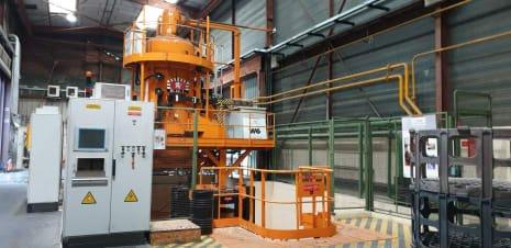 ¡SIN PRECIO MÍNIMO! Horno de vacío para cementación a baja presión y temple a presión con gas inerte BMI VSE85TC260