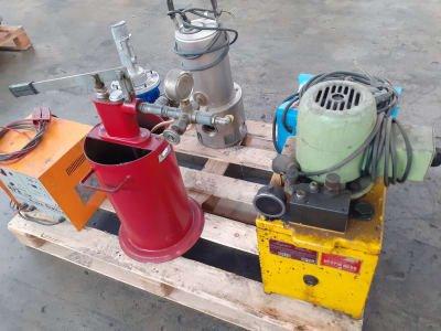 Lot of mixed equipment
