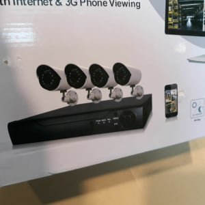 APRICA CCTV SECURITY Video Surveillance Kit
