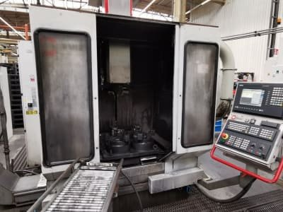 Centro de mecanizado vertical HERMLE C 800 V