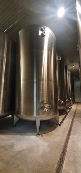 Deposito aseptico acero inoxidable 316 25.000 litros de segunda mano